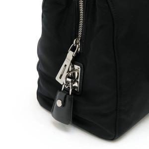 プラダ 2Wayバッグ TESSUTO+SAFFIAN ナイロン×レザー ブラック 保存袋付き BN2300 中古(程度極良)|lafesta-k|07