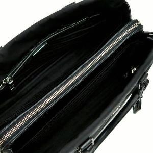 プラダ 2Wayバッグ TESSUTO+SAFFIAN ナイロン×レザー ブラック 保存袋付き BN2300 中古(程度極良)|lafesta-k|10