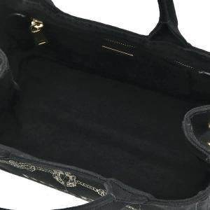 プラダ 2Wayバッグ CANAPA カナパ ストラップ付き キャンバス ブラック 保存袋付き B2439G 中古(程度極良【美品】)|lafesta-k|11