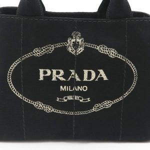 プラダ 2Wayバッグ CANAPA カナパ ストラップ付き キャンバス ブラック 保存袋付き B2439G 中古(程度極良【美品】)|lafesta-k|05