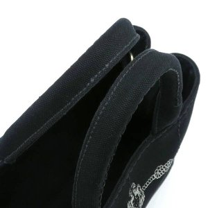 プラダ 2Wayバッグ CANAPA カナパ ストラップ付き キャンバス ブラック 保存袋付き B2439G 中古(程度極良【美品】)|lafesta-k|07