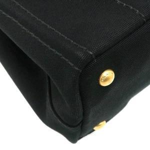 プラダ 2Wayバッグ CANAPA カナパ ストラップ付き キャンバス ブラック 保存袋付き B2439G 中古(程度極良【美品】)|lafesta-k|10