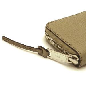フェンディ 長財布 ジップアラウンドウォレット セレリア カーフレザー ベージュ系 箱 紙袋付き 8M0374 新品(展示品)|lafesta-k|05