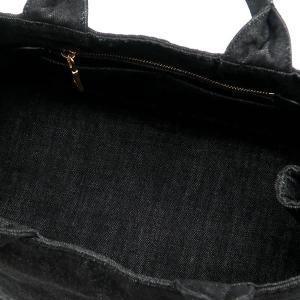 プラダ トートバッグ デニム ブラック B2642B 中古(程度極良)|lafesta-k|11