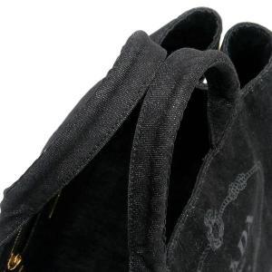 プラダ トートバッグ デニム ブラック B2642B 中古(程度極良)|lafesta-k|06
