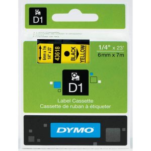 D1 Standard Tape Cartridge for Dymo Label Makers|lafeuille-store