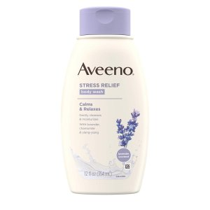 Aveeno Stress Relief Body Wash 12 fl oz by Aveeno|lafeuille-store