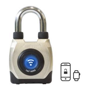 SaleeGeeTouch防水 スマートパドロック第3世代、アウトドアで使える南京錠 スマホやスマートウォッチで鍵や暗証番号不要 Android