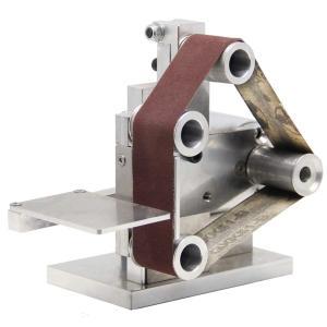 Huanyu ミニベルトサンダー 卓上型電気サンダー 7段変速 4500~9000RPM/MIN 家庭用・業務用・DIY ベルト10本付き (330×30mm)|lafeuille-store