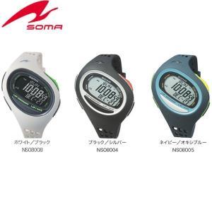 SOMA(ソーマ) ランニングウォッチ RunONE 100SL ラージサイズ スポーツ時計 腕時計(送料無料)|lafitte