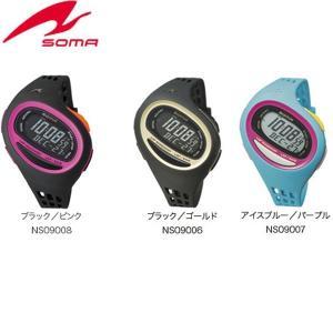 SOMA(ソーマ) ランニングウォッチ RunONE 100SL ミディアムサイズ スポーツ時計 腕時計(送料無料)|lafitte