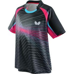 バタフライ(Butterfly) 卓球アパレル EREBAS SHIRT(エレバス・シャツ) 男女兼用 卓球 ゲームシャツ 45430-912 メンズ|lafitte