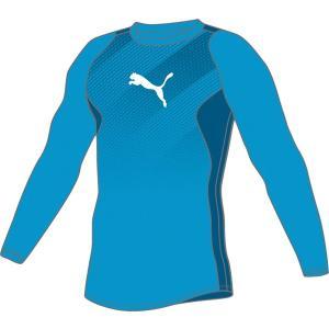 大特価55%OFF!プーマ(PUMA) (メンズ サッカー・フットサルウェア) FTBLTRG LS トレーニング TEE 655584-03 サッカー Tシャツ メンズ
