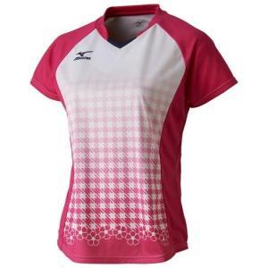大特価!MIZUNO ミズノ ゲームシャツ(ラケットスポーツ/レディース) 72MA720264|lafitte