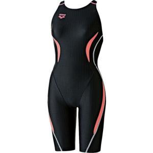 ARENA(アリーナ) レディース競泳用水着(Fina承認) セイフリーバックスパッツ(着やストラップ) ARN7050W-BKCP|lafitte