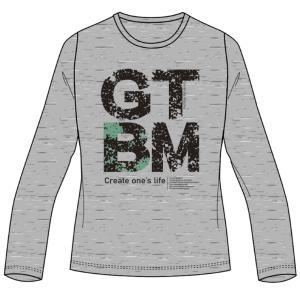 肌触りが良くふっくらと風合いにこだわった素材と ノーマルな形の長袖Tシャツ  ◯カラー/05:グレー...