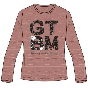 肌触りが良くふっくらと風合いにこだわった素材と ノーマルな形の長袖Tシャツ  ◯カラー/64:テラコ...