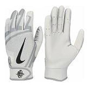 バッティング手袋 ●素材  ●サイズ S,M,L ●カラー (115)ホワイト/ウルフグレー ●仕様...