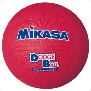 ミカサ(MIKASA) 教育用ドッジボール3号 ハントドッチ ボール D3-R