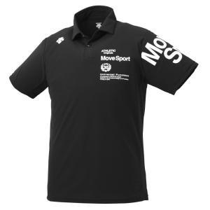 大特価!DESCENT(デサント) サンスクリーン ポロシャツ DMMNJA71-BK メンズ マルチトレ−ニング|lafitte