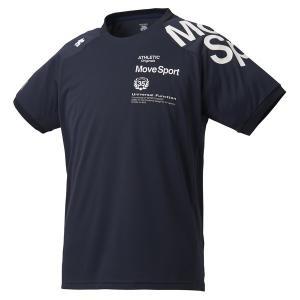 DESCENTE(デサント) ドライトランスファー Tシャツ DMMPJA51-NV メンズ