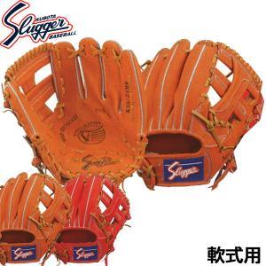 軟式用グラブ グローブ ベースボール 〜160cm向き 品番:KSN-24MS LH(右投げ用) カ...