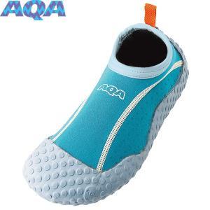 AQA(エーキューエー) スノーケリングシューズ3 ライトブルー KW4472N-47 スイム