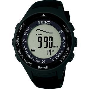 17SS SEIKO(セイコー)時計 プロスペックアルピニストブルートゥースブラックS810 SBEK001|lafitte