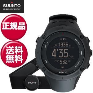 スント(SUUNTO)腕時計 Ambit3 Peak(HR)(アンビット3 ピーク)SS020674000 心拍ベルト付き GPSウォッチ 正規品 スマートウォッチ|lafitte