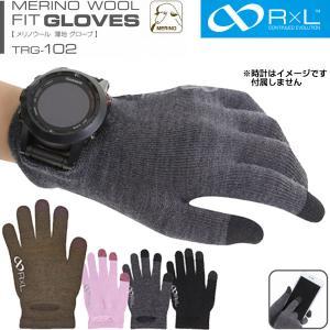 R×L SOCKS アールエルソックス 日本製 メリノウール 薄地 グローブ 手袋 TRG-102 ...