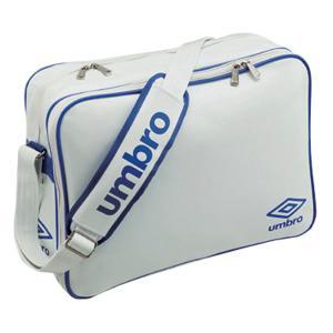 UMBRO(アンブロ)エナメルショルダーL UJS1007-WBU ホワイト/ブルー