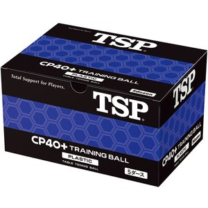 TSP 卓球 ボール CP40+ トレーニングボール 5 ダース入り 卓球 ボール 010051 (...