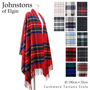 2018AW 『Johnstons-ジョンストンズ-』 Cashmere Tartans Stole...