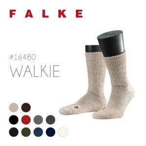 ファルケ ウォーキー Walkie Ergo 16480 メンズ レディース ソックス スニーカーソックス 冷えとり 靴下 メール便可:1枚迄