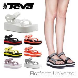 テバ TEVA レディース サンダル フラットフォーム ユニバーサル 1008844
