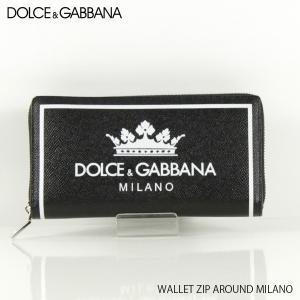 3b94f30657f3 『DOLCE&GABBANA-ドルチェアンドガッバーナ』WALLET ZIP AROUND MILANO-ミラノ アラウンドファスナー 長財布-  BP1672 AI475