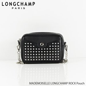4e36aab05e69 2019 SS 『Longchamp-ロンシャン-』MADEMOISELLE LONGCHAMP ROCK Pouch マドモアゼル ロンシャン  ロック ポーチ 2088 HLV