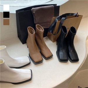 ブーツ レディース ショートブーツ   歩きやすいミドルブーツ   韓国ファッション【k3-yy05】【予約販売:15-20日】【送料無料】宅込|lagemme