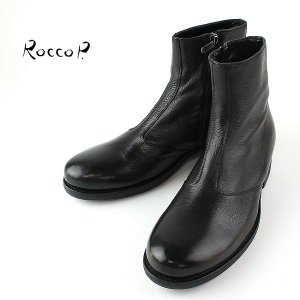 RoccoP. 0564O/11 SIDE ZIP BOOTS ロッコピー サイドジップ ブーツ  (col.BLACK) laglagmarket