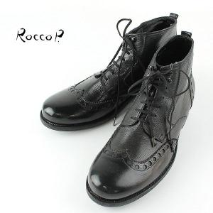 RoccoP. 0562O/11 LACE UP BOOTS ロッコピー レースアップブーツ (col.BLACK) special priceCM laglagmarket