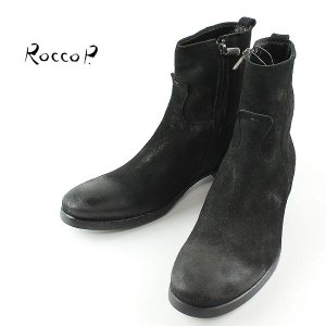 RoccoP. 0541JJ/01B SIDE JIP BOOTS ロッコピー サイドジップ ブーツ (col.BLACK) special priceCM laglagmarket