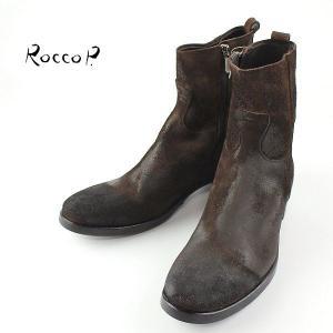 RoccoP. 0541JJ/01B SIDE JIP BOOTS ロッコピー サイドジップ ブーツ (col.BROWN) special priceCM laglagmarket