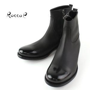 RoccoP. 0571RR/09  SIDE JIP BOOTS ロッコピー サイドジップ ブーツ (col.BLACK) special priceCM laglagmarket
