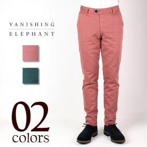 VANISHING ELEPHANT CLASSIC CHINO バニシング エレファント メンズ チノパンツ 13M-1-006(2col)|laglagmarket