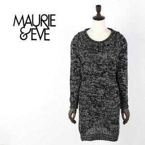 国内正規品 即日発送 MAURIE&EVE LADIES KNIT ONEPIECE モーリーアンドイブ レディス ニット ワンピース 1854(col.BLACK) special priceCL|laglagmarket