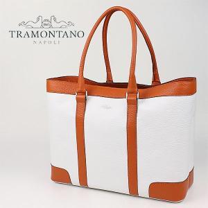 TRAMONTANO トラモンターノ バイカラー レザートートバッグ 1320 ALCE (オレンジ)レビューを書いて送料無料|laglagmarket