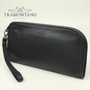 TRAMONTANO トラモンターノ メンズ カーフレザー クラッチバッグ 1450 ALCE/COCCO NERO (ブラック)レビューを書いて送料無料|laglagmarket