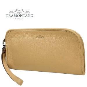 TRAMONTANO トラモンターノ メンズ カーフレザー クラッチバッグ 1450 ALCE/COCCO CHAMPAGNE (ライトベージュ)レビューを書いて送料無料|laglagmarket
