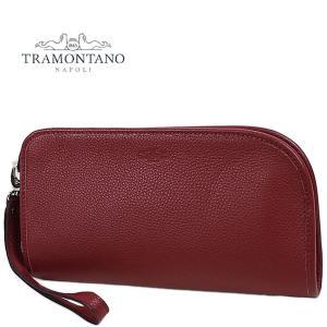 TRAMONTANO トラモンターノ メンズ カーフレザー クラッチバッグ 1450 ALCE/COCCO (レッド)レビューを書いて送料無料|laglagmarket