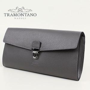 TRAMONTANO トラモンターノ フラップ クラッチバッグ 1560/ALCE (グレー)レビューを書いて送料無料
